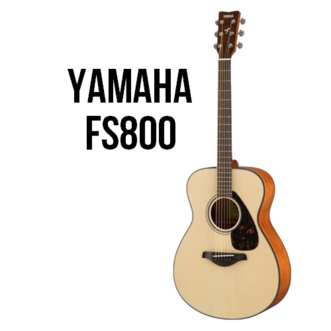 (2019) Yamaha FS800 Solid Spruce Top Acoustic Guitar - New Model