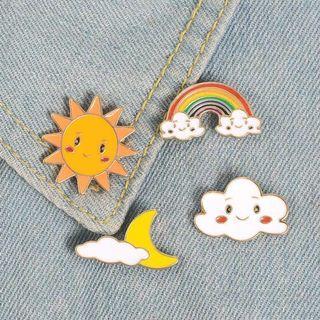 [BUY 3 FREE 1] weather enamel pin