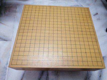 Japanese Go chess board set 日本围棋盘