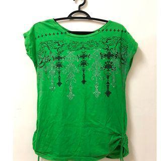 Green T-shirt SA221