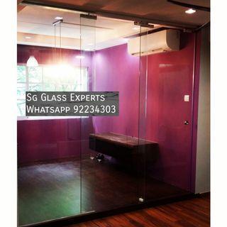 🚚 Bto renovation glass partition
