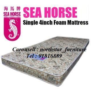 Sea Horse Single Foam Mattress # Seahorse
