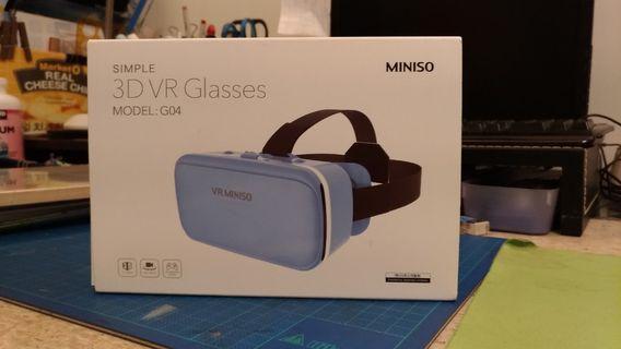 🚚 MINISO立體頭戴式VR魔鏡
