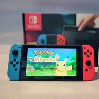 Nintendo Switch (Jailbreak) + 20 Games Free+ Super Smash Bros+ Zelda + Octopath traveller + Fifa19+ NBA2K19
