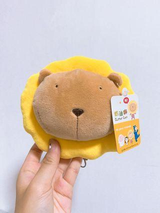 🚚 🆕 Butter Lion 奶油狮 stuffed toy pouch