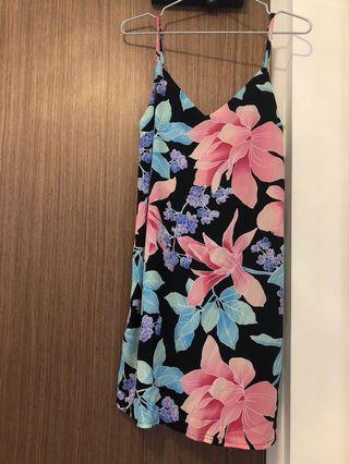 Nwot cotton on Floral slip Dress