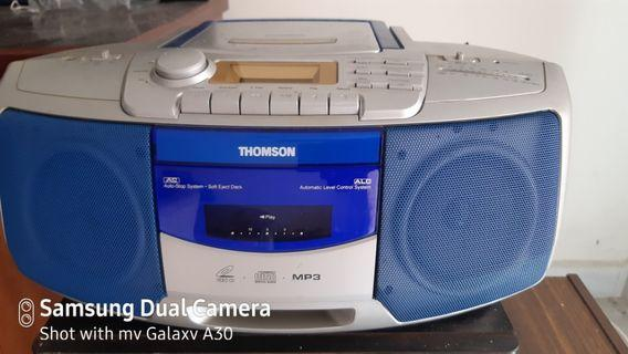 Thomson VCD player am/ fm stereo