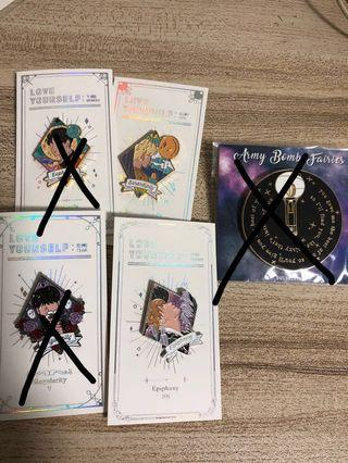 {🖤WTS} BTS pins