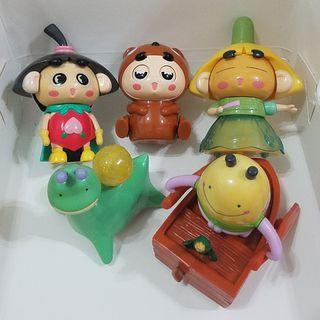 邪流丸系列-2005年開心樂園餐玩具