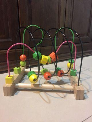 🚚 IKEA 串珠玩具