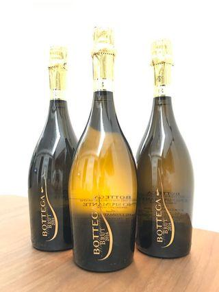 (3支/6支賣)市價6折-Bottega Millesimato Brut 汽酒