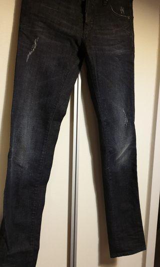 Dsquared2 skinny jeans black