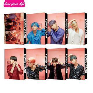 🚚 Bts persona lomo card set