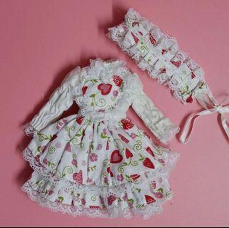 Blythe outfits Licca