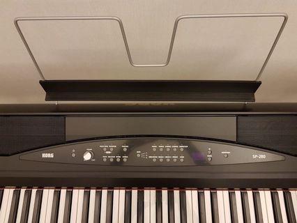 Korg Digital Piano SP280 (送琴櫈)