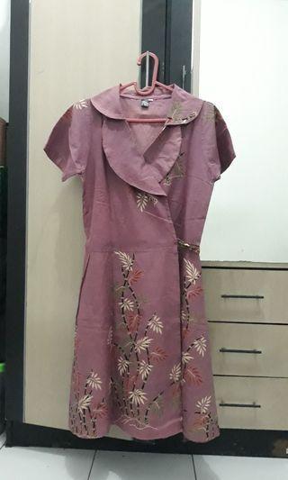 batik dress #ramadansale