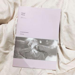Noted Pieces Dark Book for JIMIN by parkjamjam_kr fansite