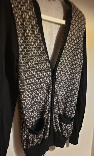 Emporio Armani black cardigan