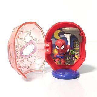 扭蛋 - Marvel 人物角色 大頭造型 情境擺設(蜘蛛俠 Spider-man)