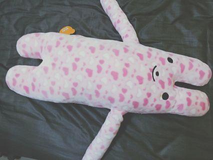 請你陪陪我-抱枕-粉色女友