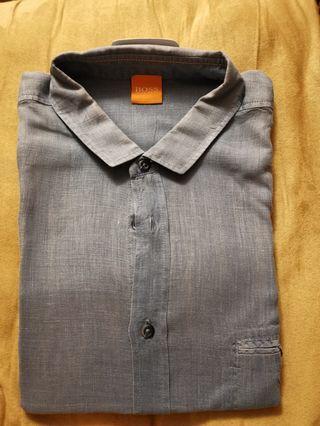 男裝恤衫 Hugo boss shirt short sleeves