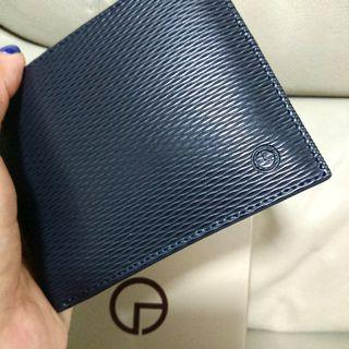 Father's Day Gift Idea! Goldlion Blue Wallet Brand New
