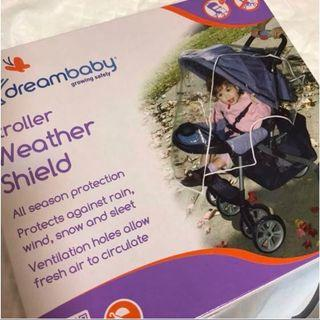 BNIB Dreambaby Stroller Rain Cover Shield