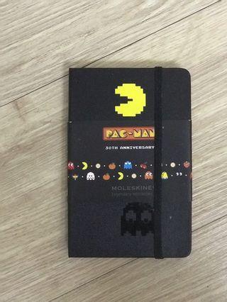Moleskine x PAC-MAN 30th anniversary notebook