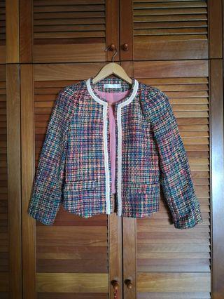 BYSI cropped tweed jacket