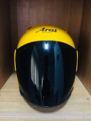 ARAI SZ/M yellow rare colour