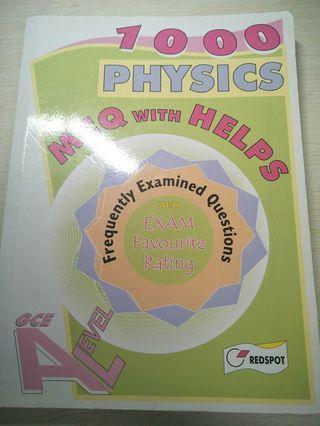 Physics MCQ for GCE exam