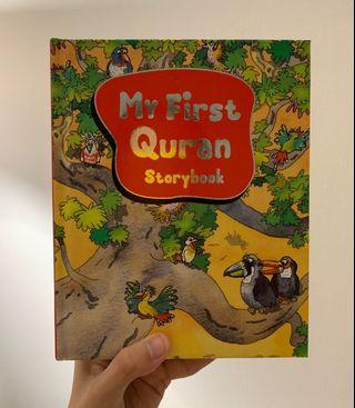 🚚 BN My First Quran hardcover storybook