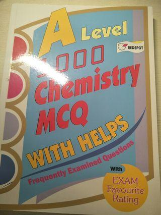 A level chemistry MCQ