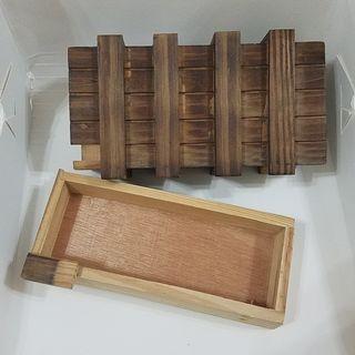 暗鎖魔術木盒 Magic Wooden Tray禮物盒Gift Box