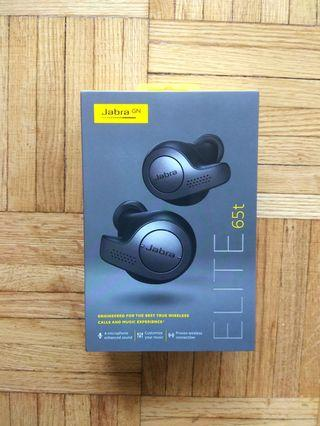 Jabra Elite 65T wireless earphone with Mic **BRAND NEW**