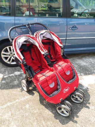 City Mini double stroller  孖B車