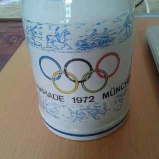Commemorative Beer Mug -  1972 Munich Summer Olympics