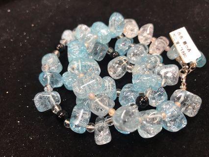 🚚 藍水晶手串