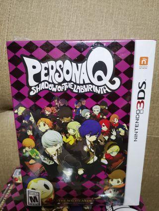 BNIB Persona Q premium edition