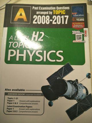 H2 Physics past examination questions