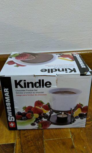 🚚 Swissmar Kindle Chocolate Fondue Set