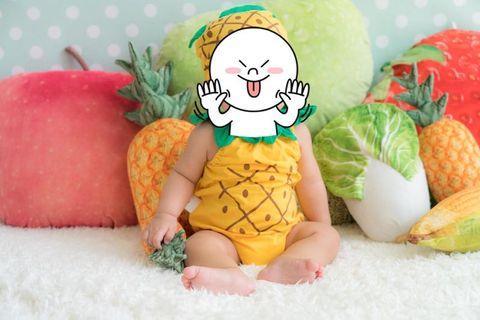 菠蘿BB衫(80cm)
