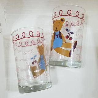 熊仔玻璃水杯
