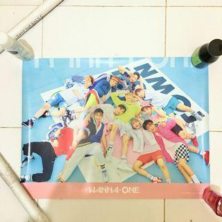Official Poster Wanna One Energetic