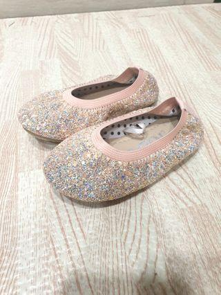🚚 Baby Girl Glitter Shoes
