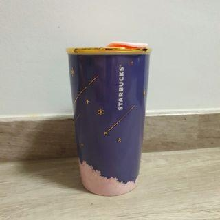 🚚 Starbucks Night Cherry blossom Ceramic tumbler