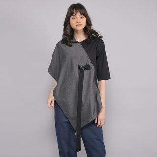 Zenith two tone kimono blouse