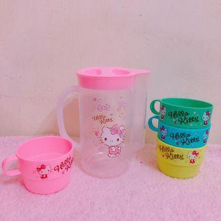 Hello Kitty Plastic Jug
