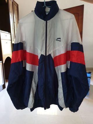 Slazenger XXL Waterproof Jacket with full zip and netting.