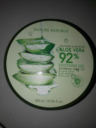 #BAPAU Nature Republic Aloe Vera Soothing Gel